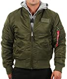 MA1 D-Tec Fliegerjacke dark green - XL