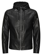 Jack & Jones Lederimitat- Lederjacke