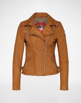 FREAKY NATION ´Princess´ Bikerjacke Damen braun