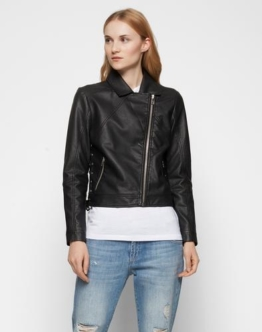 minimum Bikerjacke ´Lisbeth´ Damen schwarz