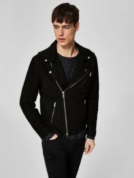 Selected Homme Biker Lederjacke
